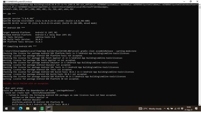 Build fail error2