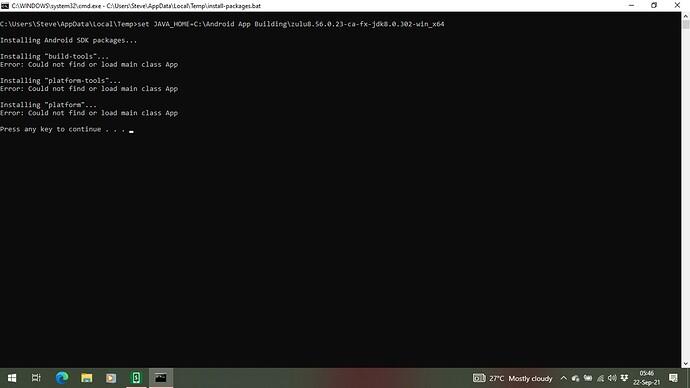 Build fail error3