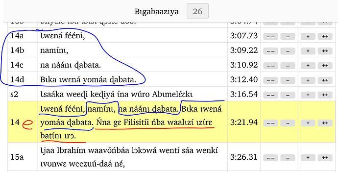SAB Gen 26.14 timing problem